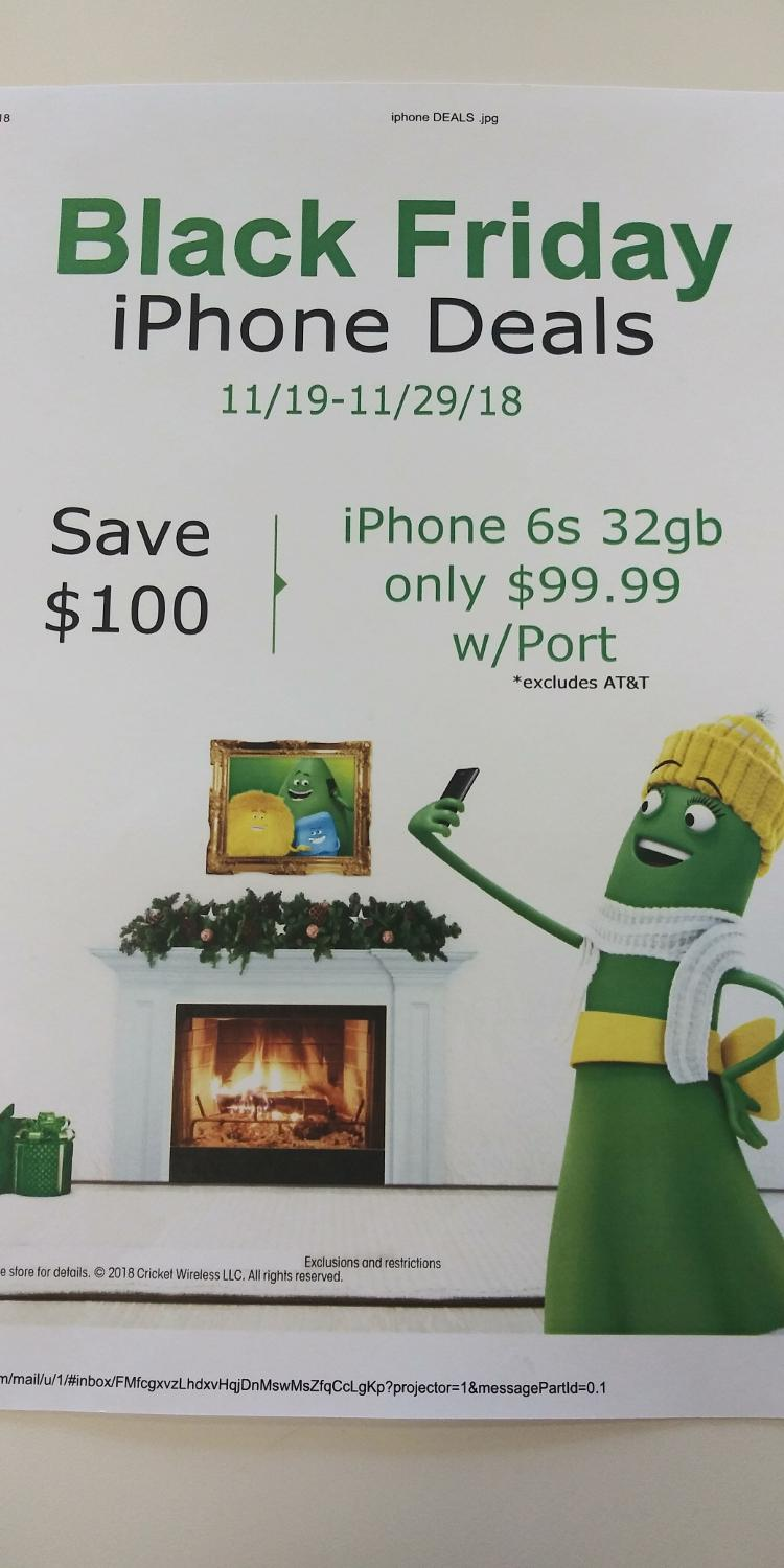 Best Cricket S Black Friday Deal Come See Us Today For Sale In Paola Kansas For 2020