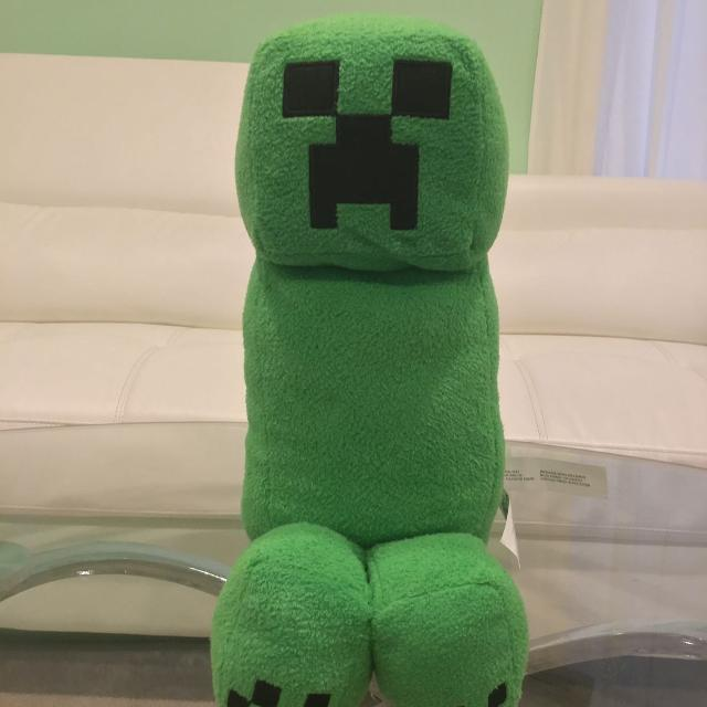 Minecraft Creeper plush toy with sound effects