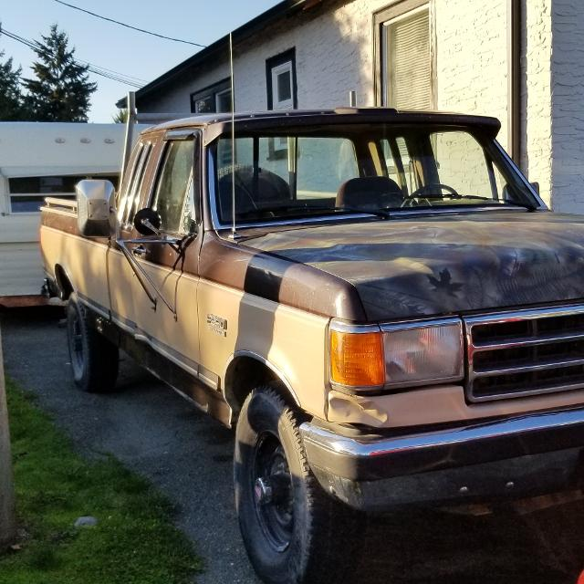 1990 Ford F250 4X4