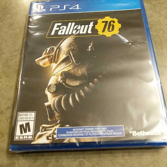 Fallout 76 PS4 (new, sealed)