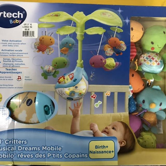 Brand new Vtech Baby lil criters musical mobile