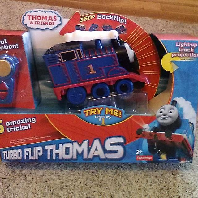 Find More New In Box Turbo Flip Thomas Fisher Price For Sale At Up