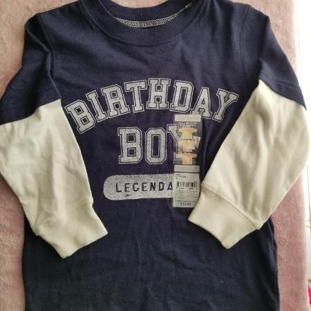 Birthday Boy Shirt Carters Size 2t