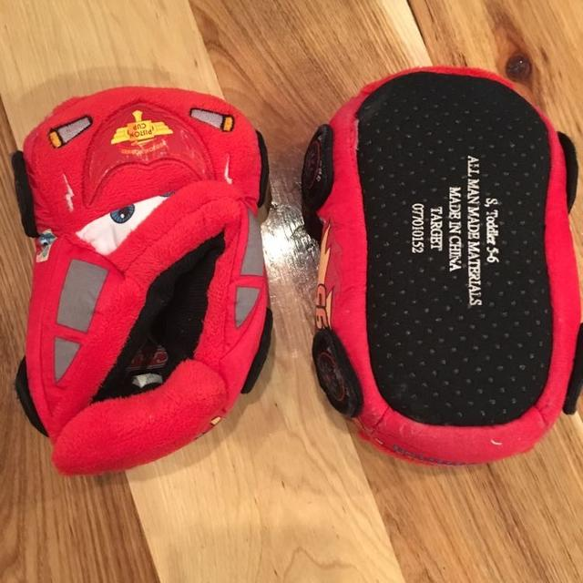 Find more Cars Toddler Size 5 6 House Shoes. Like New. for sale at ... dc70c1f2a4f