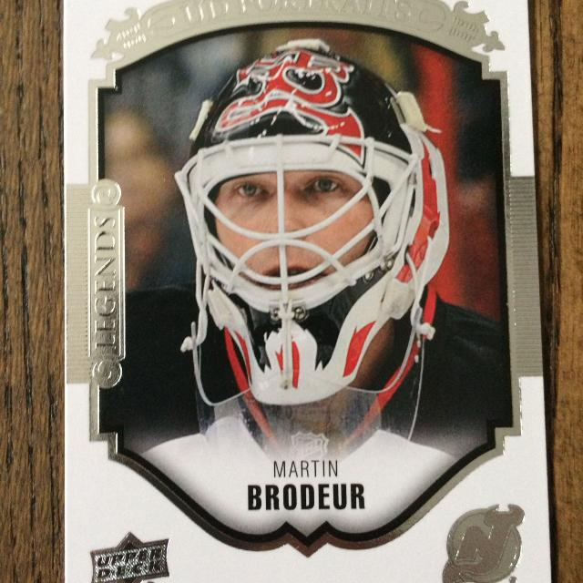 a3898a0be Best 2015-16 Upper Deck Portraits Hockey Card-  52 Martin Brodeur - New  Jersey Devils for sale in Keswick