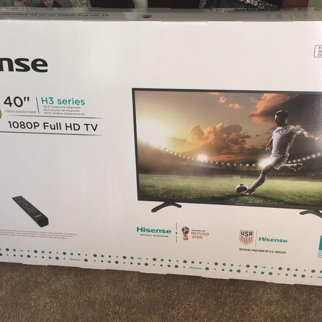 "NEW Hisense 40"" FHD 1080P TV, H3 Series"