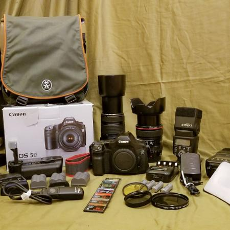 Camera Canon EOS 5D mark I package for sale  Canada