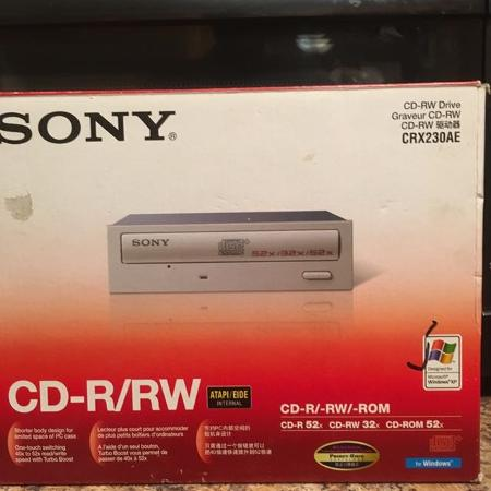 SONY.   CD-R/RW DRIVE. CRX230AE, used for sale  Canada