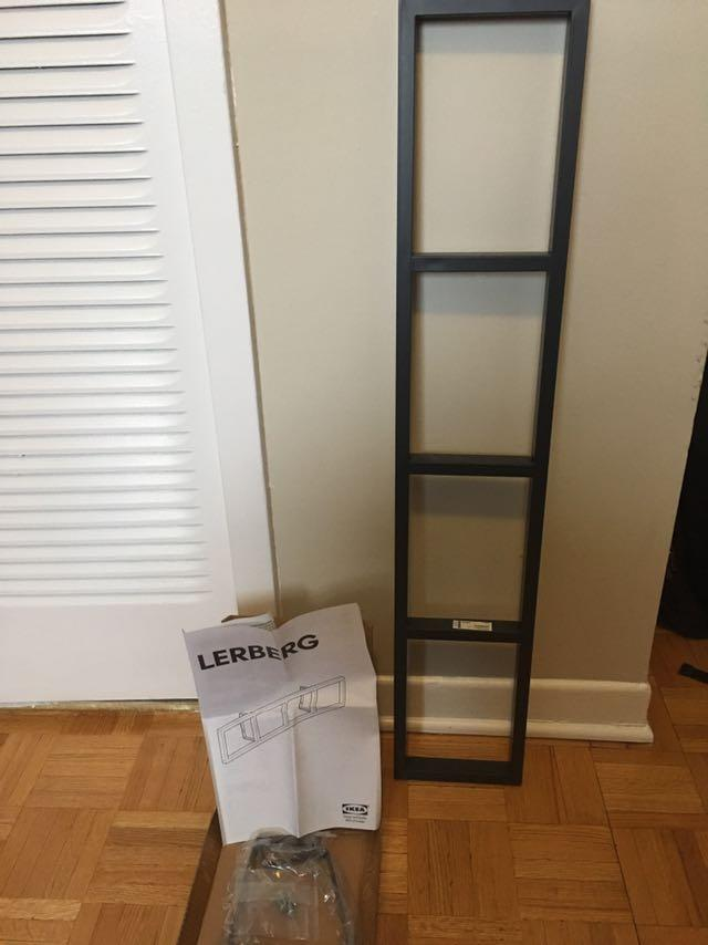 Find more New (never Used) Ikea Lerberg Cd/dvd Wall Shelf Dark Grey for sale at up to 90% off