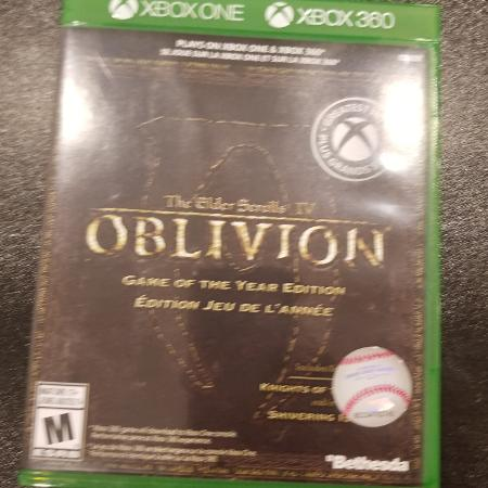 Oblivion Xbox One Game, used for sale  Canada