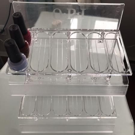 Nail polish rack. Very good condition., used for sale  Canada
