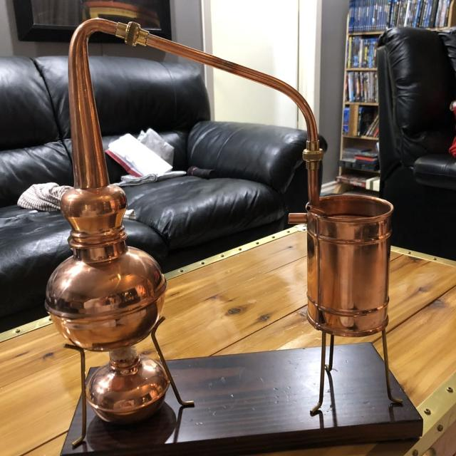 European Copper Distiller  NEW !!!! Christmas gift for that someone that  has everything