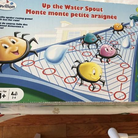 "ISO ""Up the Water Spout"" spider game, used for sale  Canada"