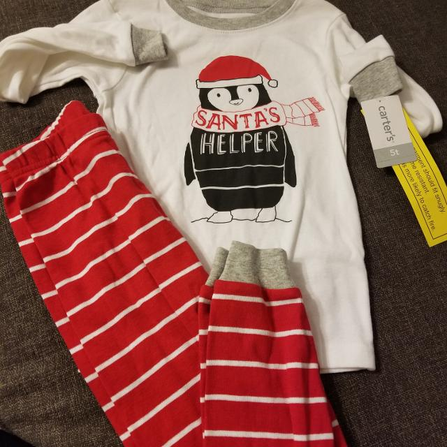 dc1be2a9b076 Find more Brand New With Tags Size 5t Carters Christmas Pjs -  6 for ...