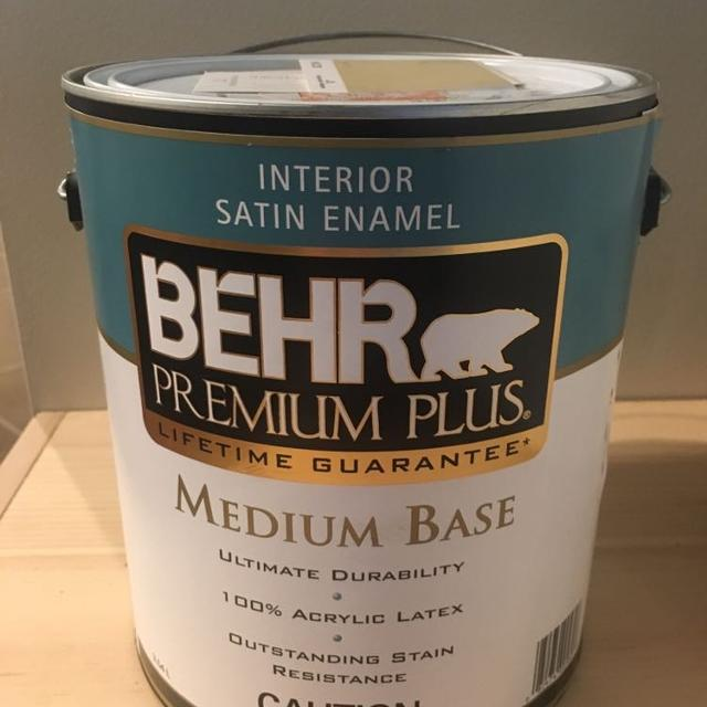 Best Interior Paint - Behr Satin Finish 1 Gallon for sale ...