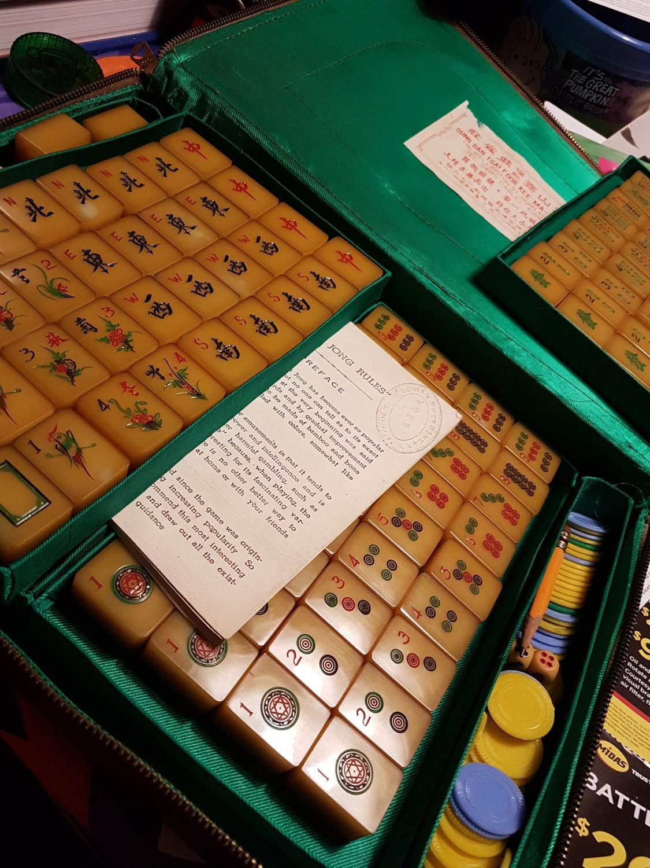 Mahjong sale for vintage sets Vintage and