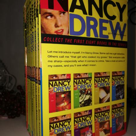 Nancy drew mystery book series 1-8 for sale  Canada