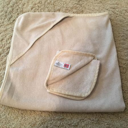 Norwex Hooded Bath Towel & Face Cloth, used for sale  Canada