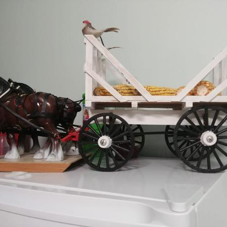 Two horses one wagon asking $90 obo for sale  Canada