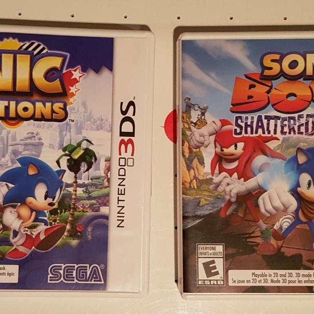 Sonic Generations + Sonic Boom Shattered Crystal (3DS)