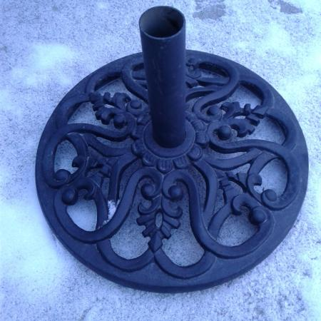Iron umbrella or Christmas tree stand for sale  Canada