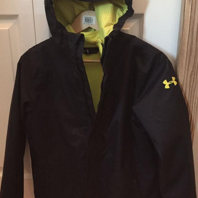 258d71978c Boys WINTER (3 in 1) jacket under armour storm