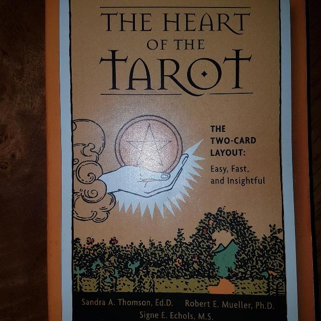The heart of the Tarot - the Two-card layout illustrated paperback book - $3