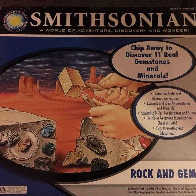 Smithsonian Rock and Gem Dig, NWOT, Only $8!!!