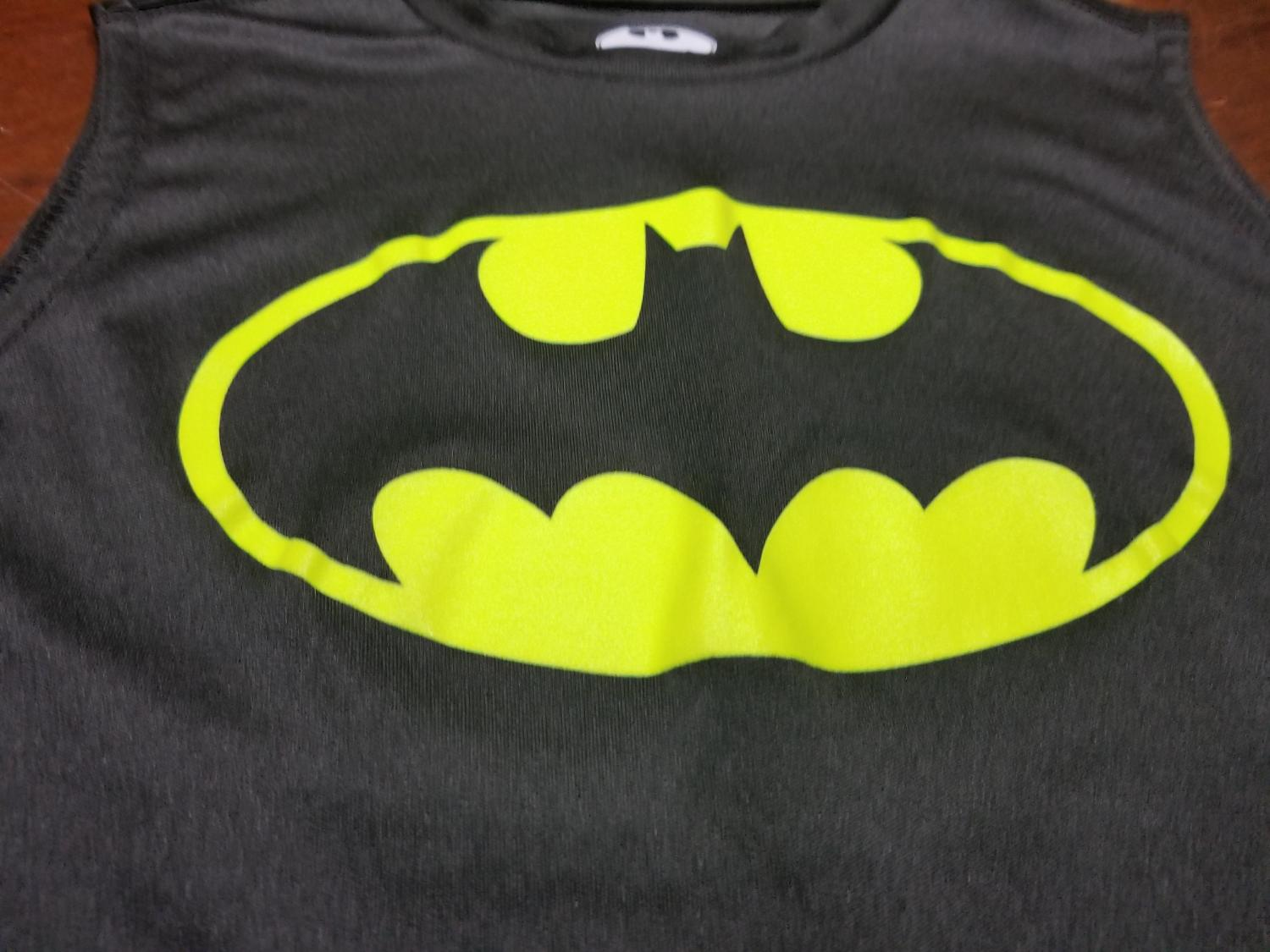 d89ebacf140c6 Find more Nwot Batman Silky Feel Tank Top Boys Size 6 7 for sale at ...