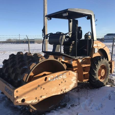 Used, Case SV208 Single Drum Roller Packer for sale  Canada