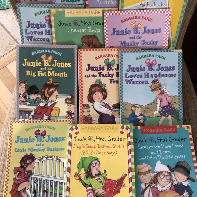 Find More 13 Junie B Jones Books In English For Sale At Up To 90 Off