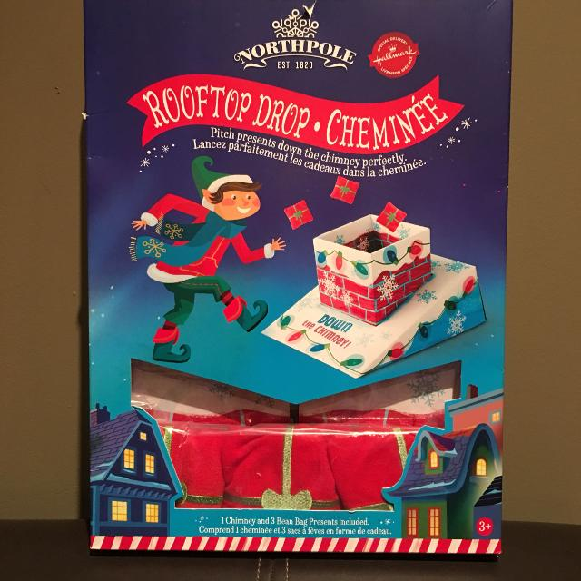 Best Hallmark Northpole Rooftop Drop Chimney Game For Sale In