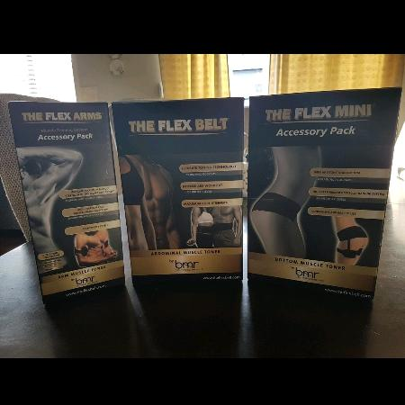 Used, The Flex Belt With 2 Accessory Packs for sale  Canada