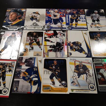 Buffalo Sabres 15 Card Lot, used for sale  Canada