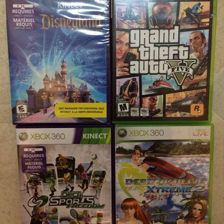 Used, Used Xbox 360 game lot for sale  Canada