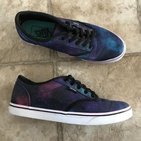Woman's Vans galaxy 🌌 shoes - size 6.5 for sale  Canada