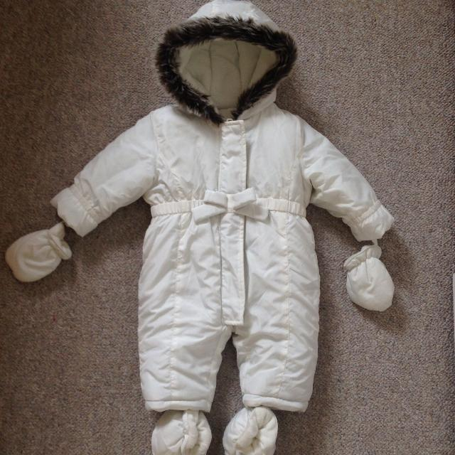 dba3e926b Best White Snow Suit For 6-9 Months for sale in Victoria