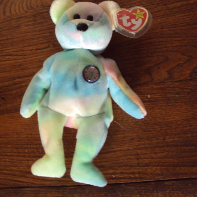 Best 1999 Ty Beanie Birthday Bear for sale in Keswick 865abd39fe1
