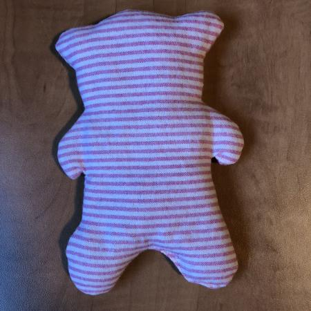 Pink/white striped Bear wheat / magic... for sale  Canada