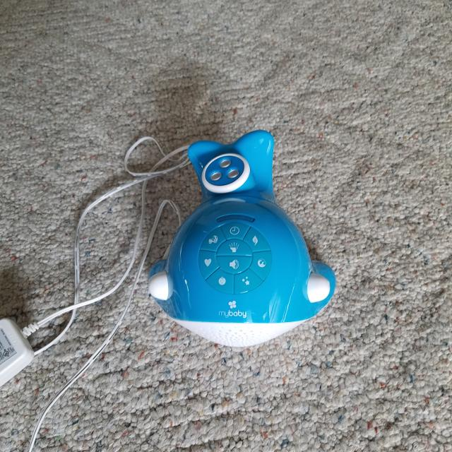 My baby whale sound spa with lights sound music and timer