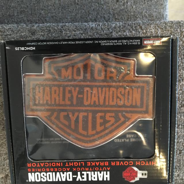 Harley Lighted Hitch Cover Hard To Find