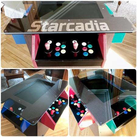 Arcade Cocktail Table - FB Page... for sale  Canada