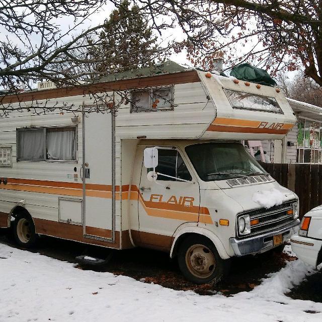 1976 dodge motorhome with 74,000