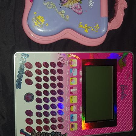 Barbie computer and tablet, used for sale  Canada