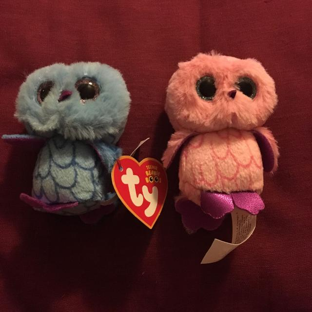 Best Mini Beanie Boo Set Of Two Owls For In Dekalb County Illinois 2019