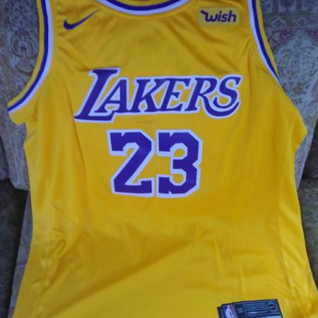 LA Lakers Lebron James Jersey for sale  Canada