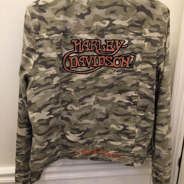 1b6393c418629 Find more Harley Davidson Camo Jacket L/xl for sale at up to 90% off