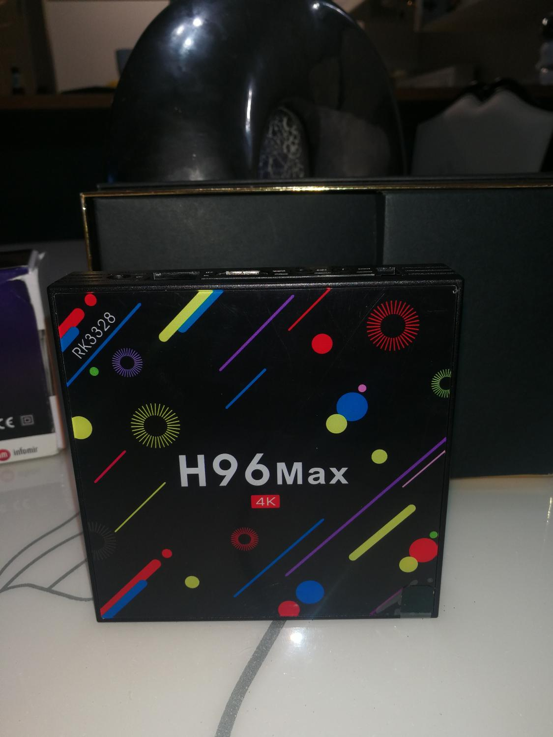 Brand new 4k android box, H96 Max