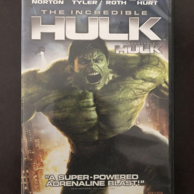 REDUCED!!! The Incredible Hulk DVD - Marvel movie - brand new