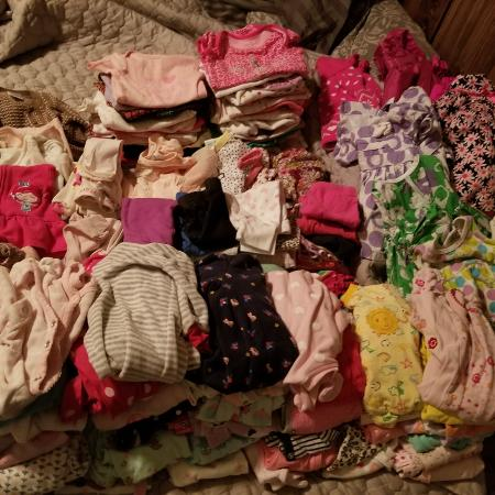 HUGE 0-3 baby girl lot!! for sale  Canada